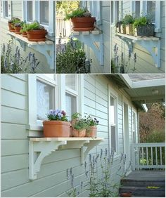 If you want to display small and medium sized planters in one place in a shelf t. - If you want to display small and medium sized planters in one place in a shelf then you can easily - Backyard Patio, Backyard Landscaping, Diy Planter Box, Garden Planters, Recycled Planters, Vegetable Planters, Vegetable Ideas, Diy Planters, Window Box Flowers