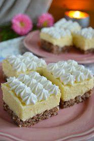 Barbi konyhája: Diós krémes kocka Hungarian Cake, Hungarian Recipes, Cookie Recipes, Dessert Recipes, Cake Bars, Sweet And Salty, Something Sweet, Winter Food, Love Cake