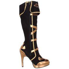 Funtasma Women's 'Arena-2012' Strappy Knee-high Ringleader Boots