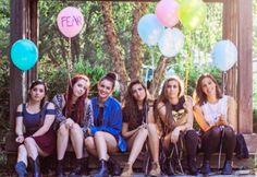 Amy, Danielle, Lisa, Lauren, Christina, Katherine