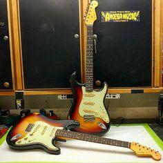 Goals: Twinning Relics Repost: Jason Smith from Fender Vintage, Vintage Guitars, Stratocaster Guitar, Fender Custom Shop, Bass, Music, Musica, Musik, Muziek