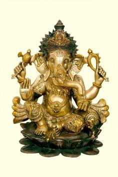 Little India Swastik Antik Ganesh Motiv Aus Metall Zum Aufhangen