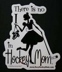 I loved being a hockey mom.  So many great memories, fabulous moments, and wonderful relationships.