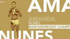 AND NEW! Amanda Nunes beats Miesha Tate by 1st-round submission to claim the bantamweight title.
