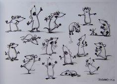 Jason Deamer rat concept art for Ratatouille