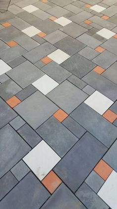 Porch Tile, Porch Flooring, Outdoor Flooring, Concrete Paving, Paving Stones, Exterior Tiles, Exterior Design, Floor Design, Tile Design