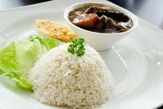 Párolt rizs köretnek - Előételek és köretek