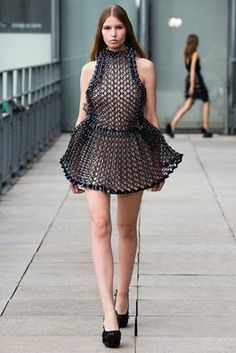 Iris van Herpen Spring 2015 Ready-to-Wear Fashion Show: Complete Collection - Style.com