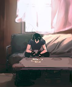 VLD fanart - Solitary Life Keith