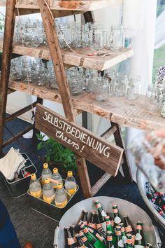 Constanze & Oliver: moderne DIY-Vintage-Hochzeit #GardenParty