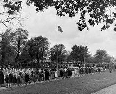 Sainte-Mère-Eglise, commemoration june 1946.
