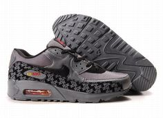 https://www.kengriffeyshoes.com/nike-air-max-90-grey-black-p-787.html Only$69.46 #NIKE AIR MAX 90 GREY BLACK #Free #Shipping!