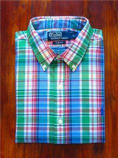 Ralph Lauren Skjorta - Button down Slim fit L Nyp. 1199 1 kr på Tradera b7fd90b3a9a19