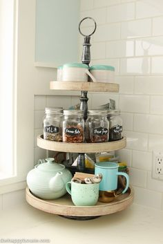 How to Completely Organize Your Kitchen {Week Two Organizing Challenge} | The Happy Housie