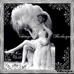 Inspired by vintage dancers, I started doing burleque in 2007. Doing these shows is the most fun I've ever had! ♥♥♥