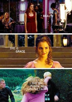 Don't mess with Hermione. ...