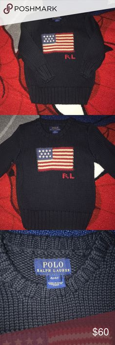 4t Polo Ralph Lauren Sweater💙 Size 4t in excellent condition. Feel free to ask any questions or make an offer. Bundle to save more! Polo by Ralph Lauren Shirts & Tops Sweaters