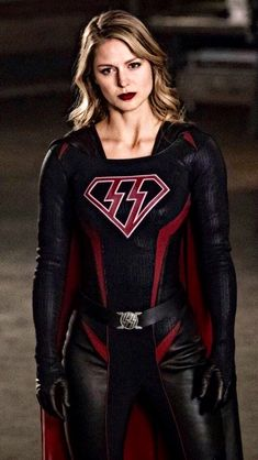 Overgirl. Arrowverse Crossover: Crisis on Earth X. #lookthatsuit #shestillgorgeous