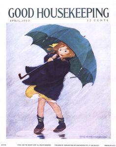 VINTAGE ART: Good Housekeeping