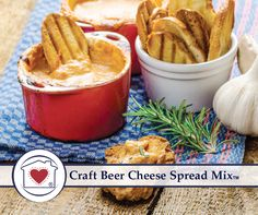 Craft Beer Cheese Spread Mix Country Home Creations   Treasure Journeys