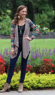We offer both casual and dressy tops. Winter Clothes, Winter Outfits, Marley Lily, Girls Chase Boys, Dressy Tops, Autumn Inspiration, Happy Fall, Toffee, Aztec