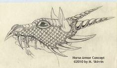 Horse Armor Concept by ~M-Skirvin on deviantART