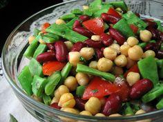 Robyn Cooks: Marinated Bean Salad