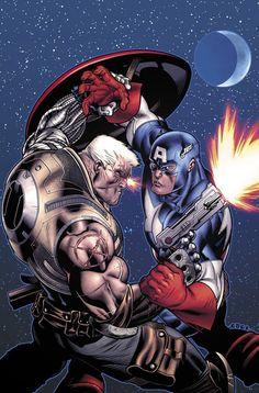Cable vs. Captain America