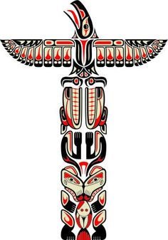 """My novel """"Promise"""" leads to an awareness of this. Totem pole design."""