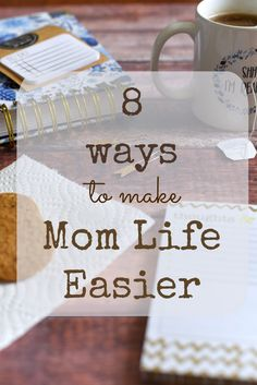 Make mom life easier! Reduce stress, free up more spare time, and enjoy life again with these simple and actionable tips!  via @GingeredWhisk