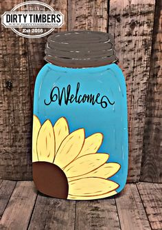 Unfinished Spring door hangers Unfinished wood cut out. Buy 5 get 1 Free # Mason Jar Crafts, Mason Jar Diy, Wood Cut, Burlap Door Hangers, Wooden Hangers, Wooden Cutouts, Wooden Shapes, Painted Jars, Painted Rocks