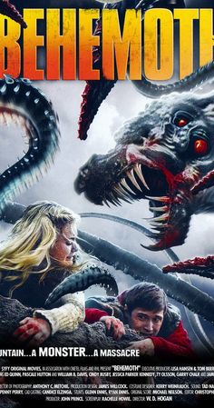 Movie Behemoth Scientists discover a giant creature under the Earth that is wrapped around the entire planet. When the creature wakes all grumpy, it causes worldwide destruction. All Movies, Sci Fi Movies, Action Movies, Movies To Watch, Movies Online, Movie Tv, Movies 2019, Horror Movie Posters, Horror Movies