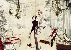La Stanza Sforzesca     Daniel Egnéus #illustration