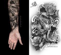 Создание эскиза для татуировки. Запись открыта . #тату #tattoo #tattooideas #SkrypNYakArt #YavtushenkoDmitriy #TattooDnepr #ТатуДнепр #Україна