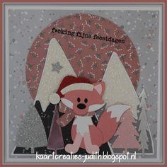 Kerstman Eline's cute fox Passe partouts Trees by Marleen Eline's Snowflake kisses Mountains by Marleen Sneeuwpapier Papier Zilver Metallic paper - Light Pink Soft Glitter paper - Zilver Soft Glitter paper - Light pink Foute Kerst Paper Light, Metallic Paper, Cute Fox, Marianne Design, Snowflakes, Glitter, Stamp, Christmas Ornaments, Bergen