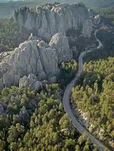 Black Hills Needles Highway,South Dakota