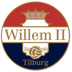 Willem II Tilburg of Holland crest. Football Troll, Football Soccer, Soccer Teams, Soccer Match, Soccer Kits, Football Team Logos, Football Cards, Sports Logos, Fifa