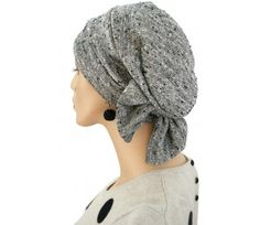 $21.00 - Salt and Paper Two Way Cap - @ hatsforyou.net #cancer #chemo #alopecia #hair loss
