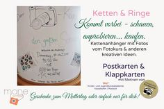 moneworkshops: Workshop DIY Cabochon Ringe & Ketten