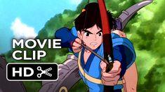 Princess Mononoke Movie CLIP - Calm Your Fury (2014) - Studio Ghibli Blu...