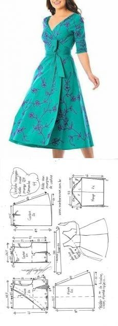 New dress pattern sleeves costura ideas Toddler Dress Patterns, Easy Sewing Patterns, Clothing Patterns, Pattern Sewing, Sewing Diy, Sewing Ideas, Skirt Patterns, Coat Patterns, Pattern Drafting