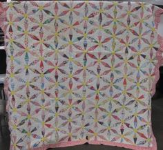 shopgoodwill.com: Antique Hand Quilted Cotton Patchwork Quilt