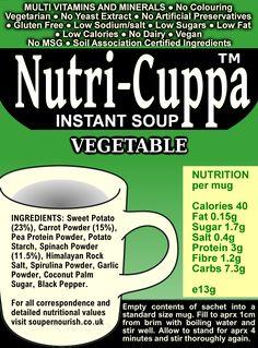 Nutri-Cuppa Vegetable