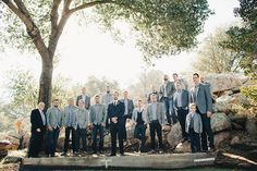 Brides: Cool Southern California Wedding