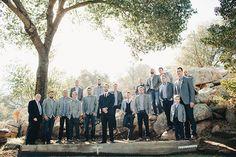 Brides: Cool Southern California Wedding