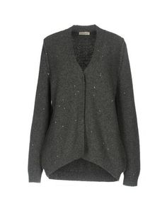 BRUNO MANETTI Women's Cardigan Grey 10 US
