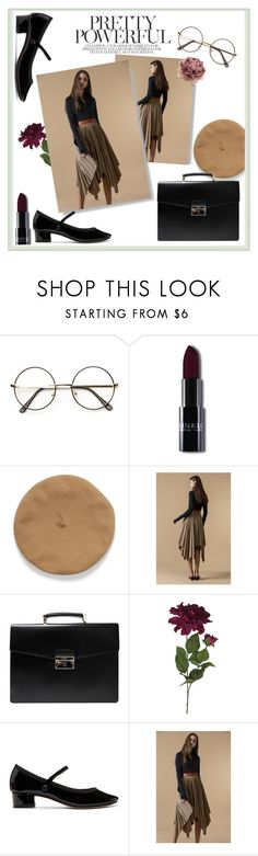 """""""Pretty and Powerful"""" by muradija-hamzagic ❤ liked on Polyvore featuring Prada and Repetto"""