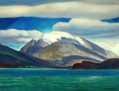 Rockwell Kent 1882 - 1971 TIERRA DEL FUEGO, SOUTH AMERICA [DOME MOUNTAIN]