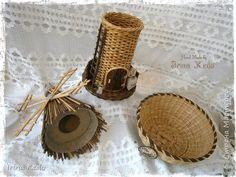Интерьер Плетение Плетёнки в новом 2015году Трубочки бумажные фото 13