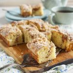 gluten free apple coffee cake